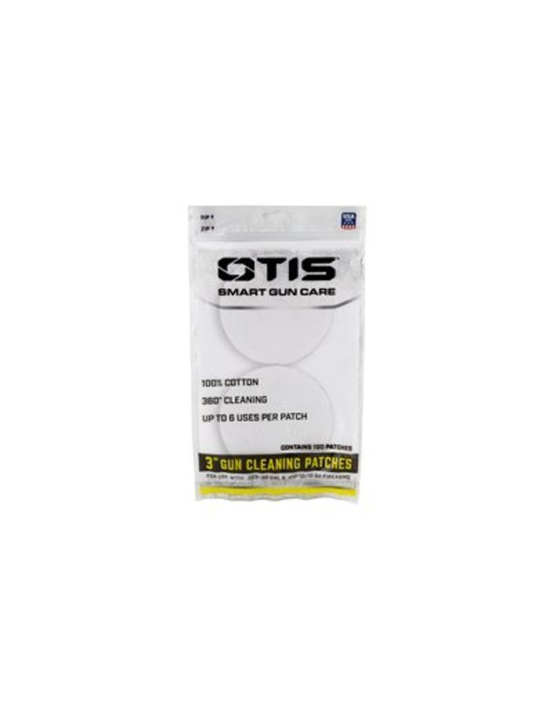 "Otis 3"" Universal Cotton Patch 100CT"