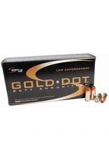 Speer Gold Dot 9mm 124GR +P 50rds