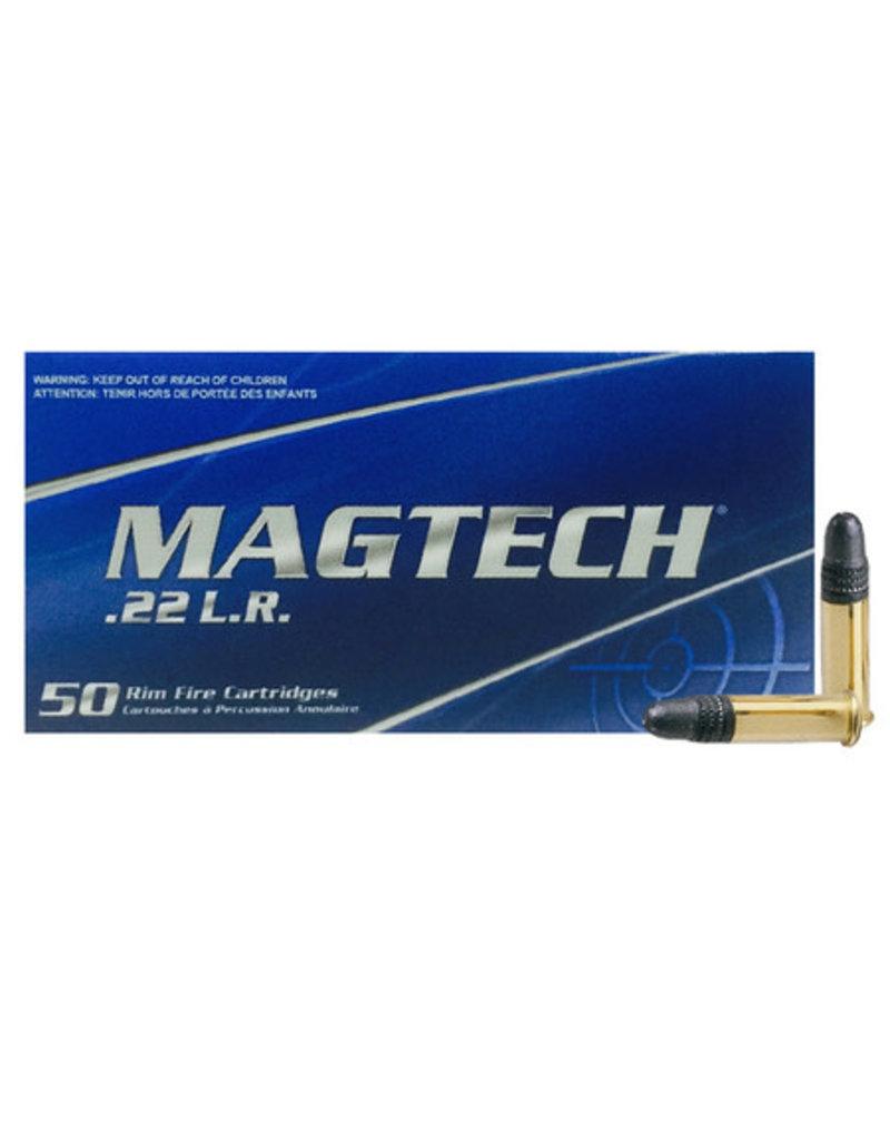 Magtech Ammunition MGT CART 22LR RFLR SV 40GR RN