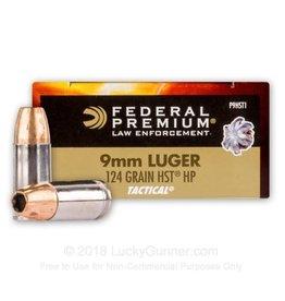 Federal HST 9mm 124gr 50/bx