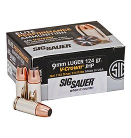 Sig Sauer V-Crown HP 9mm 124gr
