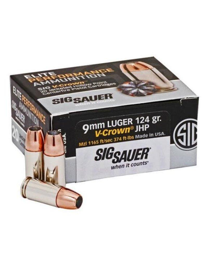 Sig Sauer V-Crown HP 9mm 124gr