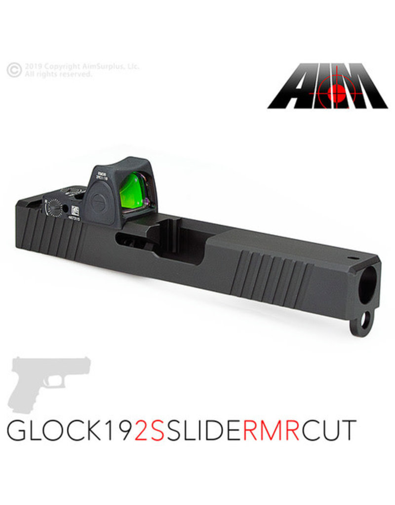 Aim Surplus Glock 19 Slide w/RMR Cut