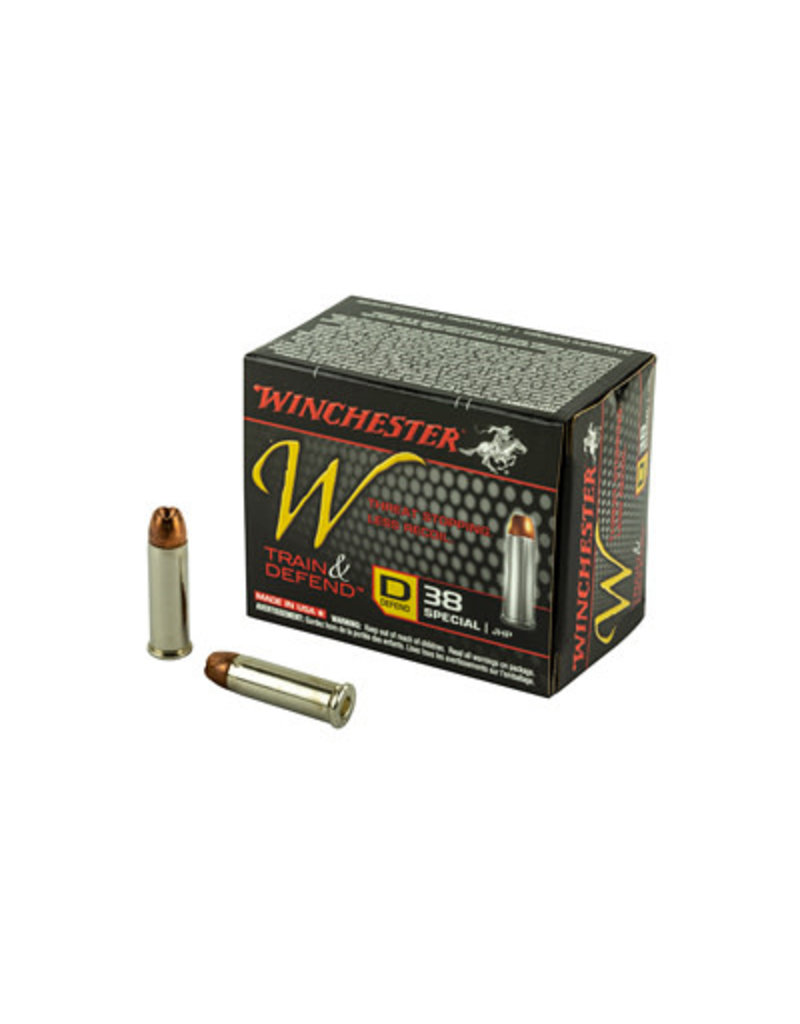 Winchester T&D 38SPL JHP