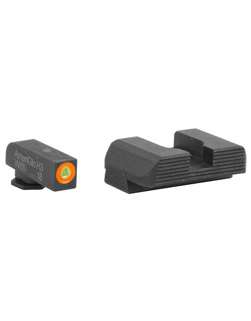 AmeriGlo Ameriglo hackathorn Glock sights