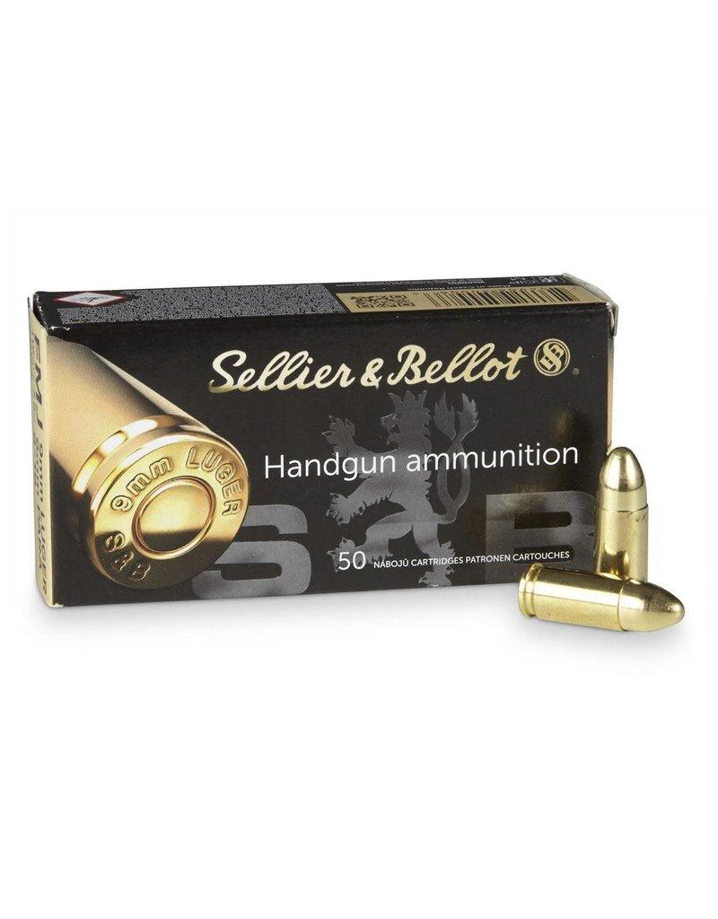 Sellier & Bellot SB9A 115gr 9mm