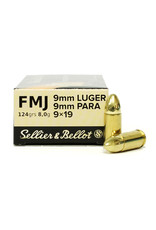 Sellier & Bellot S&B 9mm 124gr FMJ