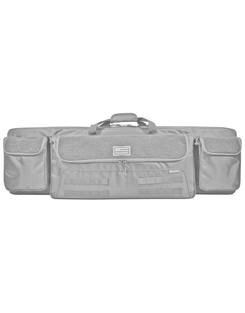 "Evolution Outdoor Tactical 42"" Double Rifle Case BLK"
