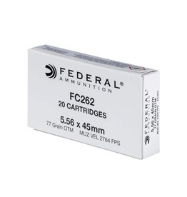 Federal Cartridge MK262 5.56