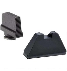 AmeriGlo Tall Flat Black Suppressor Sights GLK