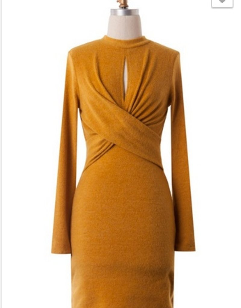 Soft Criss Cross Dress