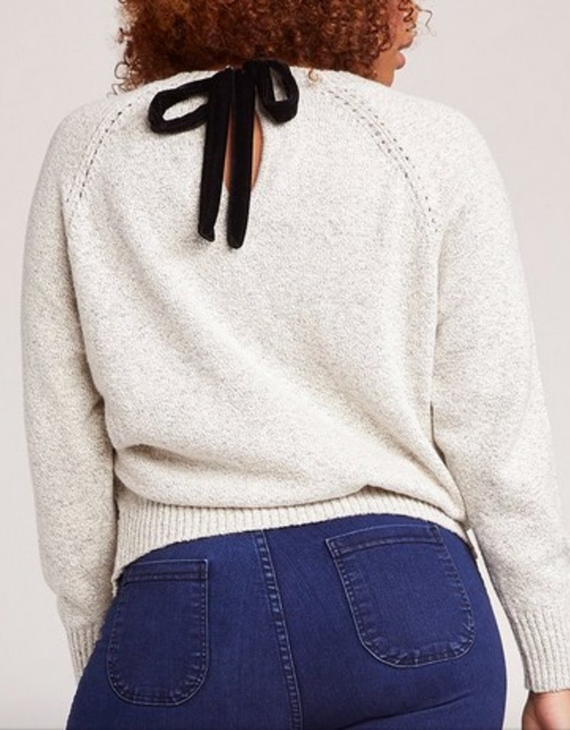 Secret Bow-Mance Sweater