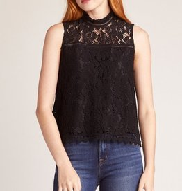 Up To Here Lace Sleeveless Top