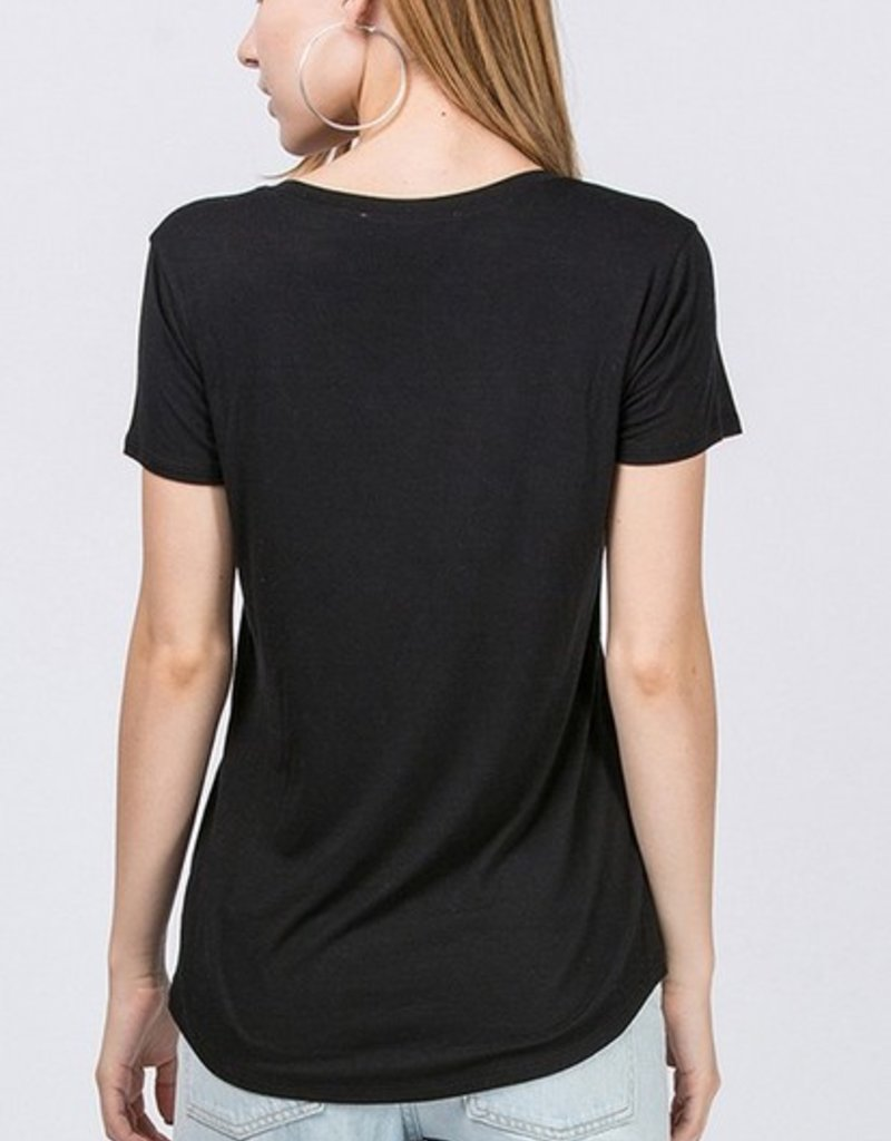 Basic Short Sleeve Tee