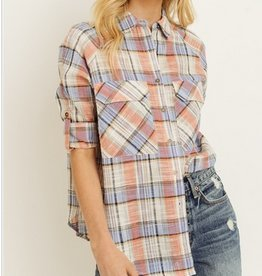 Spring Woven Plaid