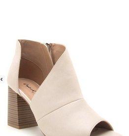 Haira Wrap Heel With Zipper Detail
