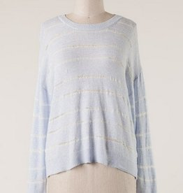 Crochet Soft Knit Sweater