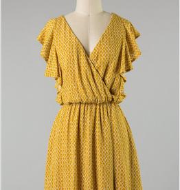 Ruffled Feminine Dress