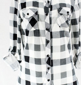 Plaid Checker Shirt