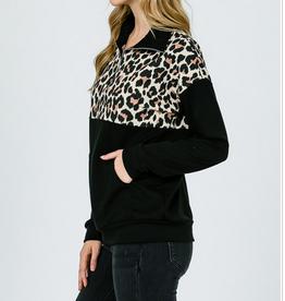 Leopard Zipup