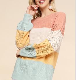 Crochet Sleeve Sweater