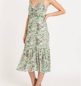 Ruffle Tiered Midi Dress
