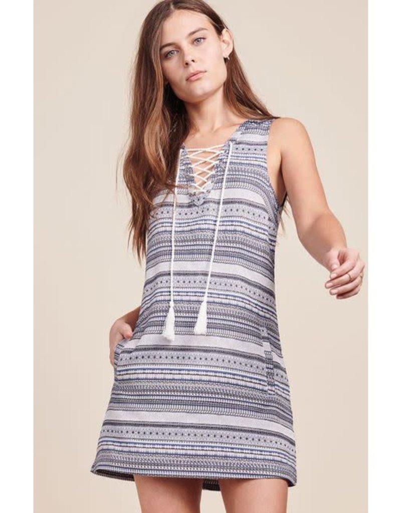 Amari Dark Indigo Dress