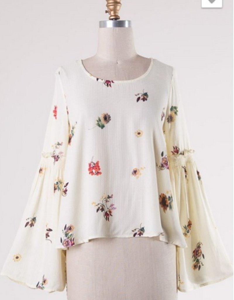 Floral Belle Sleeve Top