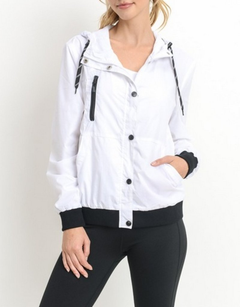 Button Down Casual Hoodie