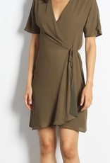 Port Wrap Dress