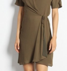 Port Wrap Dress