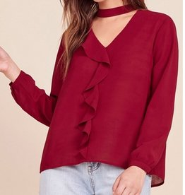 Tell Me More Blouse