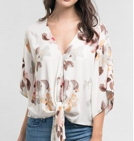 Front Tied Blouse