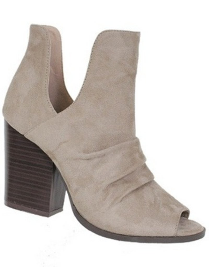 Side Cut-Out Booties