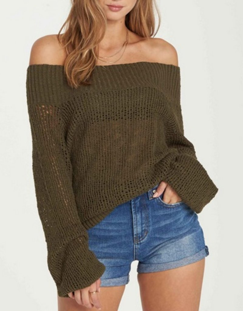 Billabong Rolled Up Sweater
