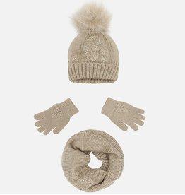 Marci Hat, Scarf + Gloves Set