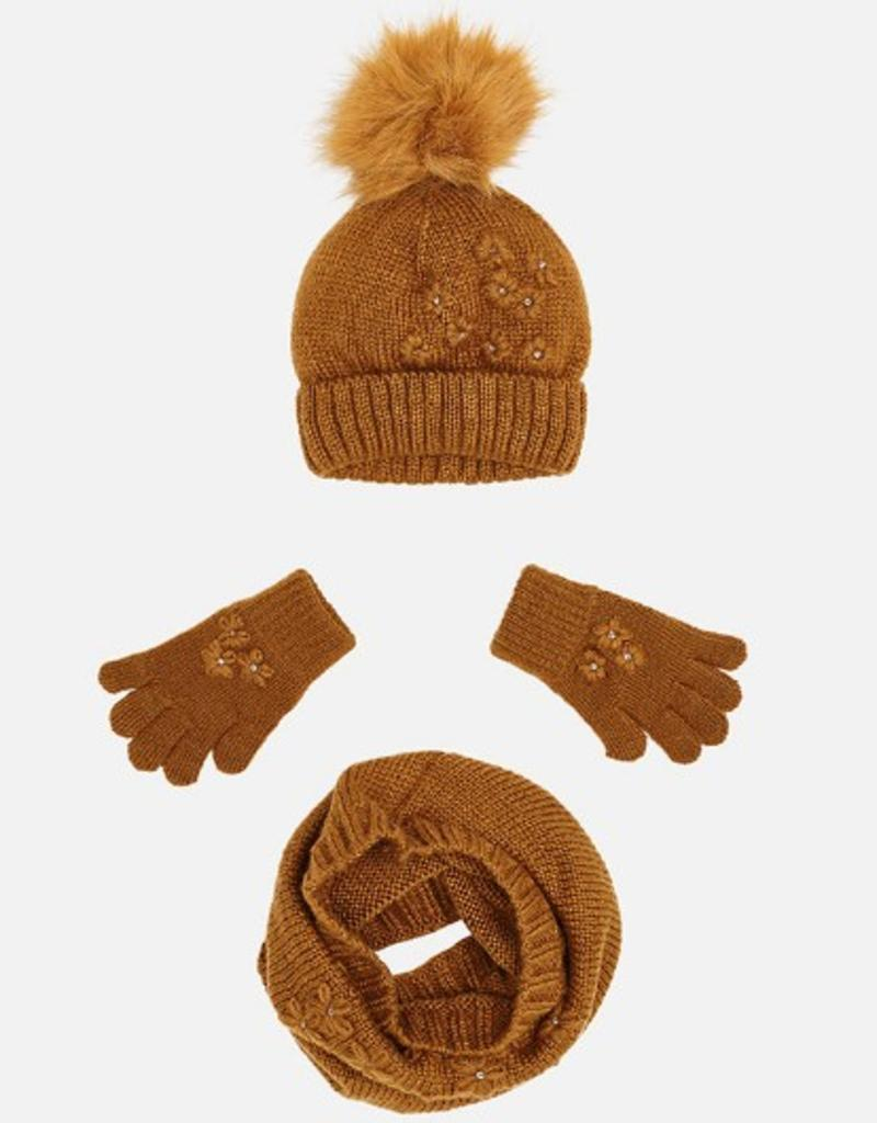 Marci Hat, Scarf + Gloves Set
