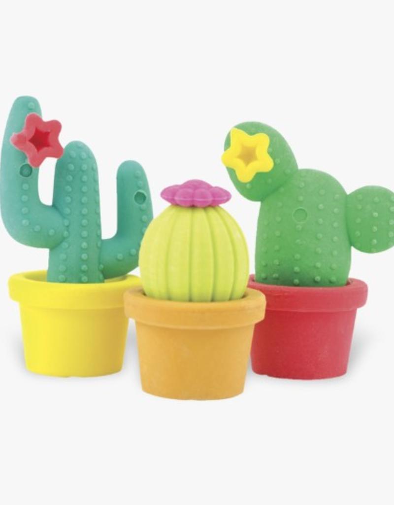International Arrivals Prickly Pals Cactus Erasers
