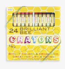 International Arrivals Brilliant Beeswax Crayons 133-50