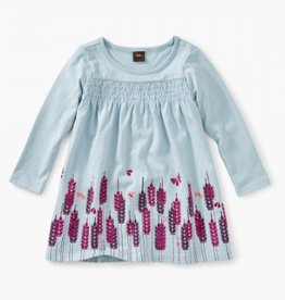 CLOTHES-Baby Girl Smocked Graphic Baby Dress