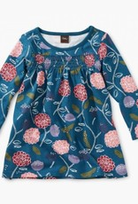 Printed Smocked Baby Dress