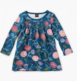 Printed Smocked Baby Dress