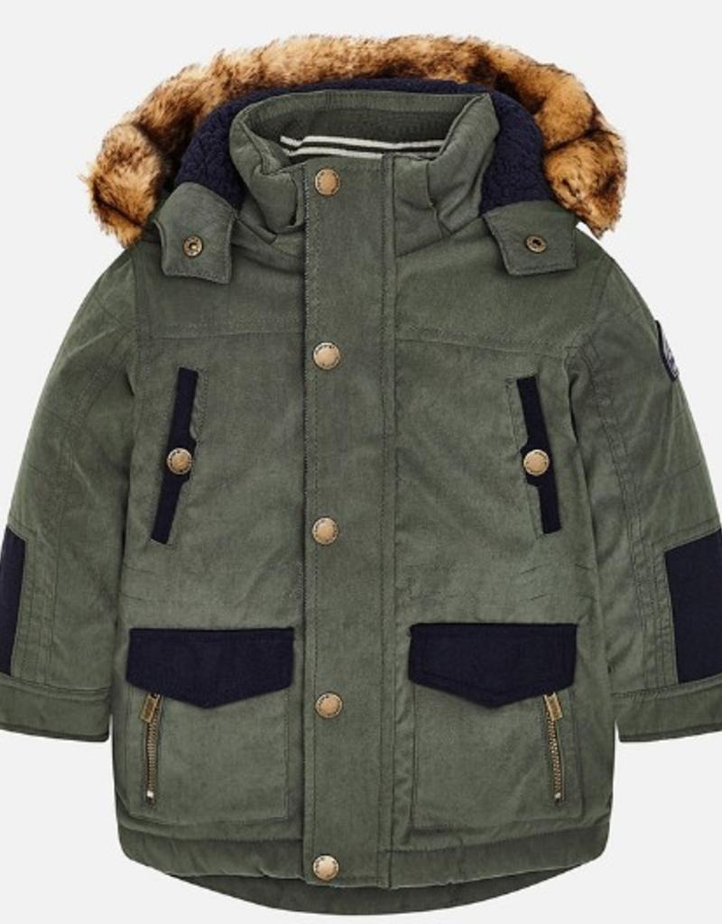 Maple Mix Parka