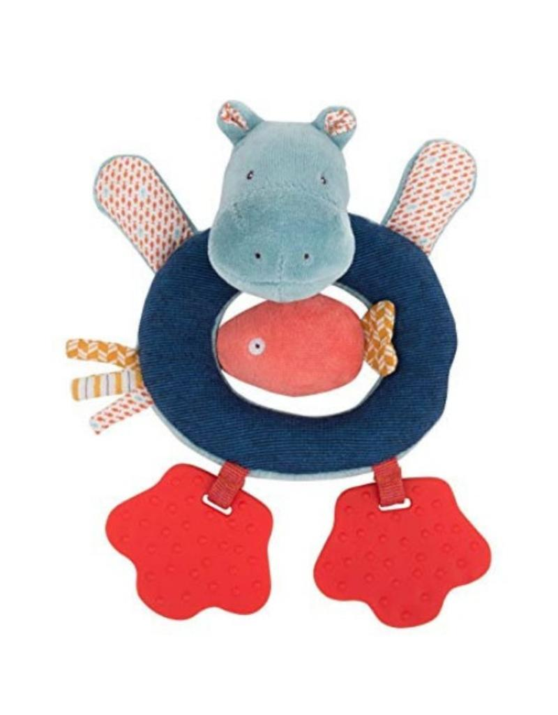 Hippo Ring Rattle