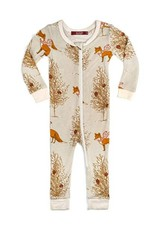 Christmas Fox  Zipper Pajamas