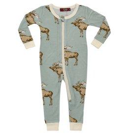 Blue Moose  Zipper Pajamas