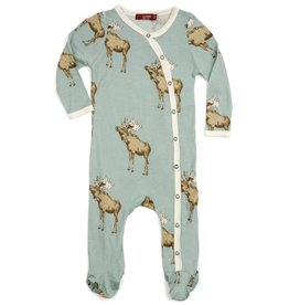 Blue Moose Footed Romper