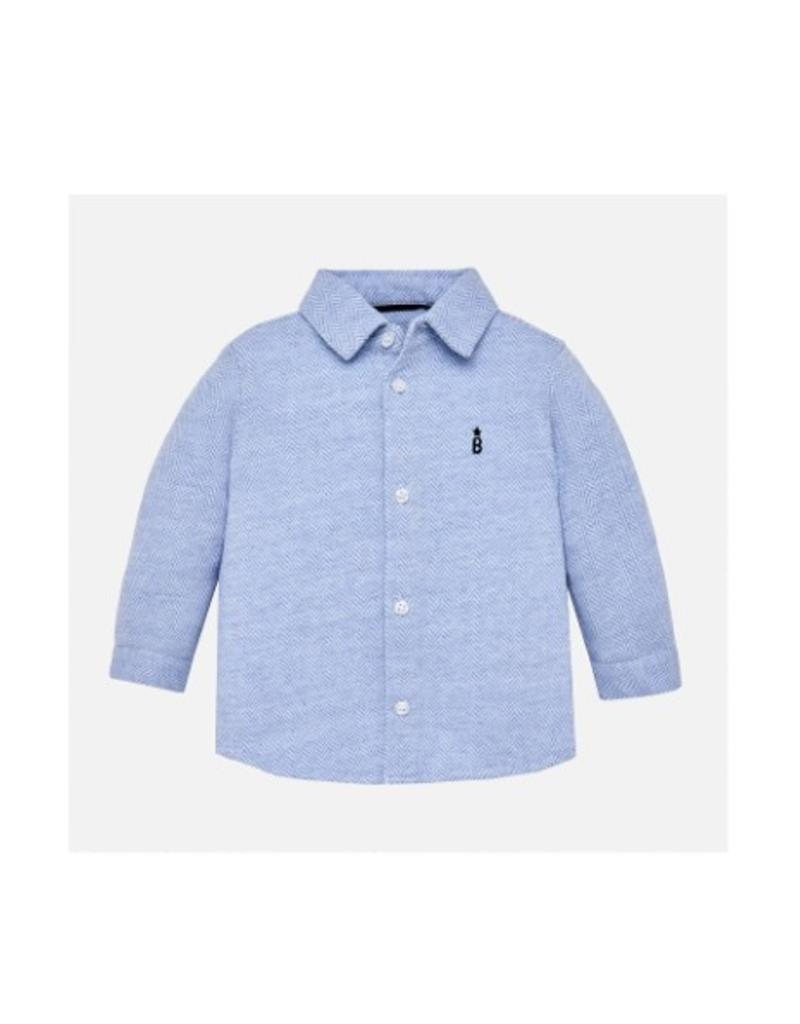 Marcell Button-up Long Sleeve Shirt