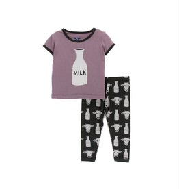 Print Pajama Set