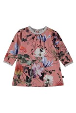 Caroline Long Sleeve Print Dress